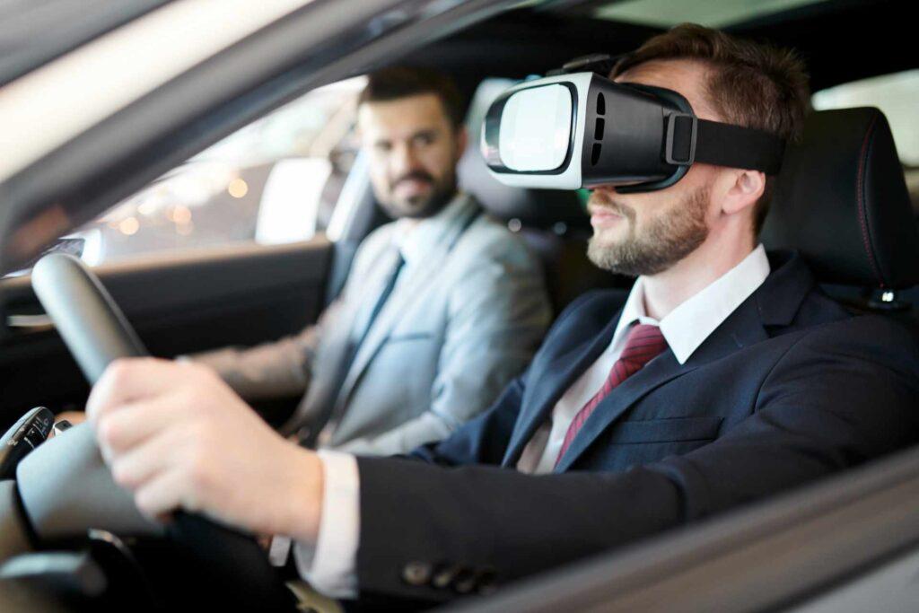 Guida virtuale e simulatore auto